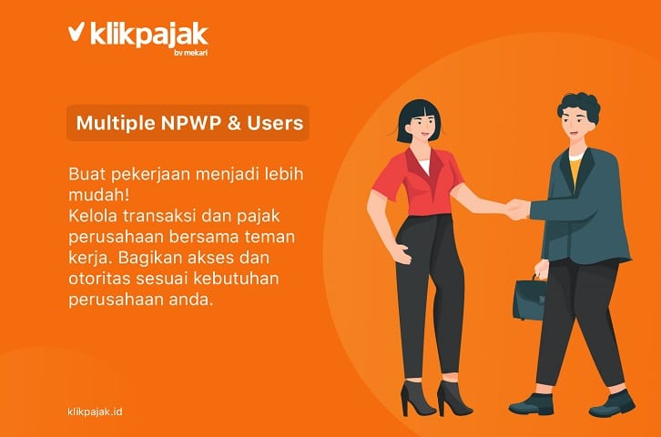 multiple npwp dan users