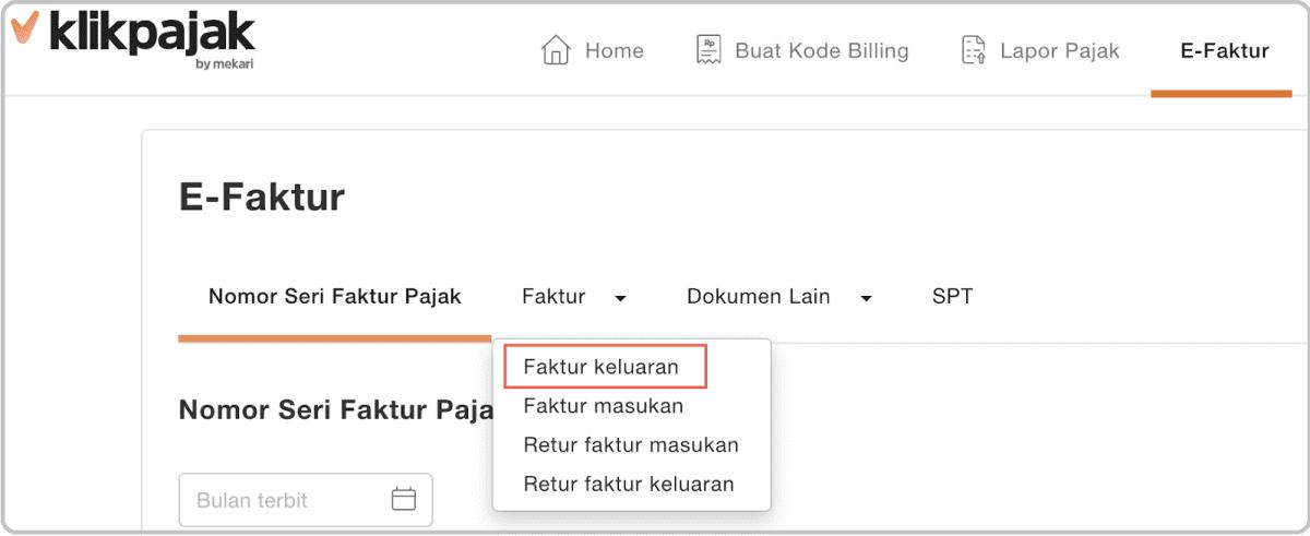 Upload Faktur Keluaran: Cara Simpan dan Upload eFaktur